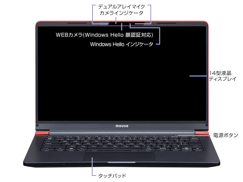 mouse X4-B正面