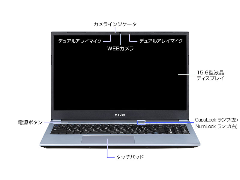 mouse B5-R5正面
