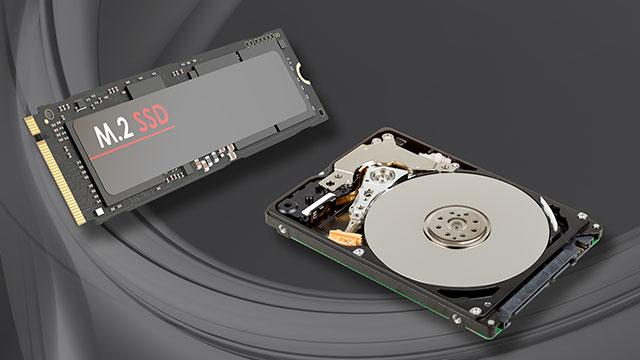 2TB HDDも搭載可能。